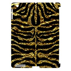 Skin2 Black Marble & Gold Foil Apple Ipad 3/4 Hardshell Case (compatible With Smart Cover)