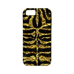 Skin2 Black Marble & Gold Foil Apple Iphone 5 Classic Hardshell Case (pc+silicone)