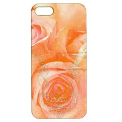 Flower Power, Wonderful Roses, Vintage Design Apple Iphone 5 Hardshell Case With Stand