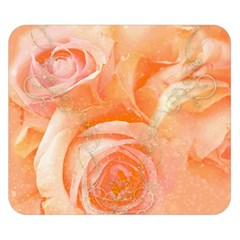 Flower Power, Wonderful Roses, Vintage Design Double Sided Flano Blanket (small)