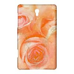 Flower Power, Wonderful Roses, Vintage Design Samsung Galaxy Tab S (8 4 ) Hardshell Case