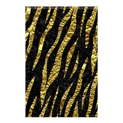 Skin3 Black Marble & Gold Foil Shower Curtain 48  X 72  (small)