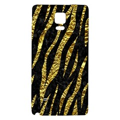 Skin3 Black Marble & Gold Foil Galaxy Note 4 Back Case