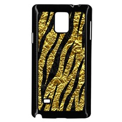 Skin3 Black Marble & Gold Foil (r) Samsung Galaxy Note 4 Case (black)