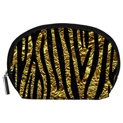 Skin4 Black Marble & Gold Foil Accessory Pouches (large)