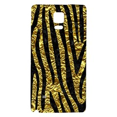 Skin4 Black Marble & Gold Foil Galaxy Note 4 Back Case