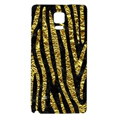 Skin4 Black Marble & Gold Foil (r) Galaxy Note 4 Back Case