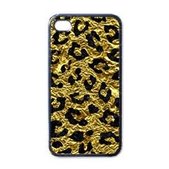 Skin5 Black Marble & Gold Foil Apple Iphone 4 Case (black)