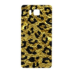 Skin5 Black Marble & Gold Foil Samsung Galaxy Alpha Hardshell Back Case