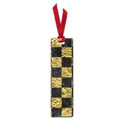 Square1 Black Marble & Gold Foil Small Book Marks