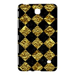 Square2 Black Marble & Gold Foil Samsung Galaxy Tab 4 (8 ) Hardshell Case