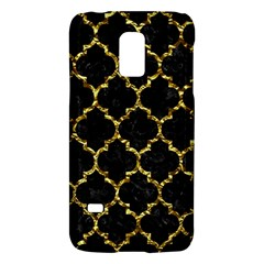 Tile1 Black Marble & Gold Foil Galaxy S5 Mini