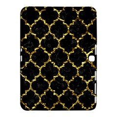 Tile1 Black Marble & Gold Foil Samsung Galaxy Tab 4 (10 1 ) Hardshell Case