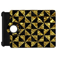 Triangle1 Black Marble & Gold Foil Kindle Fire Hd 7