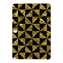 Triangle1 Black Marble & Gold Foil Samsung Galaxy Tab Pro 10 1 Hardshell Case