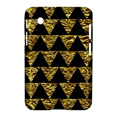 Triangle2 Black Marble & Gold Foil Samsung Galaxy Tab 2 (7 ) P3100 Hardshell Case