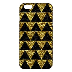 Triangle2 Black Marble & Gold Foil Iphone 6 Plus/6s Plus Tpu Case
