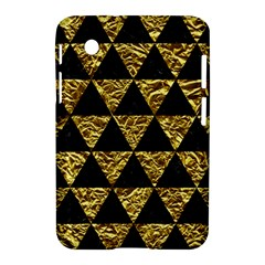 Triangle3 Black Marble & Gold Foil Samsung Galaxy Tab 2 (7 ) P3100 Hardshell Case