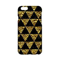 Triangle3 Black Marble & Gold Foil Apple Iphone 6/6s Hardshell Case