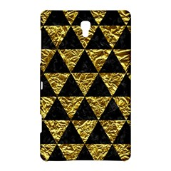 Triangle3 Black Marble & Gold Foil Samsung Galaxy Tab S (8 4 ) Hardshell Case