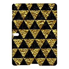 Triangle3 Black Marble & Gold Foil Samsung Galaxy Tab S (10 5 ) Hardshell Case