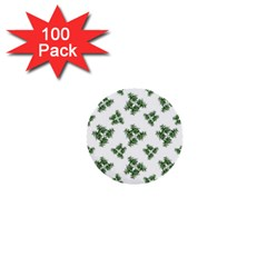 Nature Motif Pattern Design 1  Mini Buttons (100 Pack)