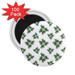 Nature Motif Pattern Design 2 25  Magnets (100 Pack)