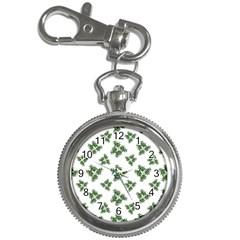 Nature Motif Pattern Design Key Chain Watches
