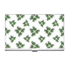 Nature Motif Pattern Design Business Card Holders