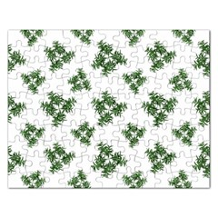 Nature Motif Pattern Design Rectangular Jigsaw Puzzl