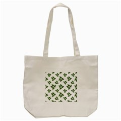 Nature Motif Pattern Design Tote Bag (cream)