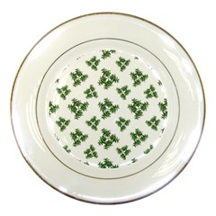 Nature Motif Pattern Design Porcelain Plates