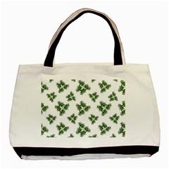 Nature Motif Pattern Design Basic Tote Bag