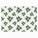 Nature Motif Pattern Design Large Glasses Cloth (2-Side) Front