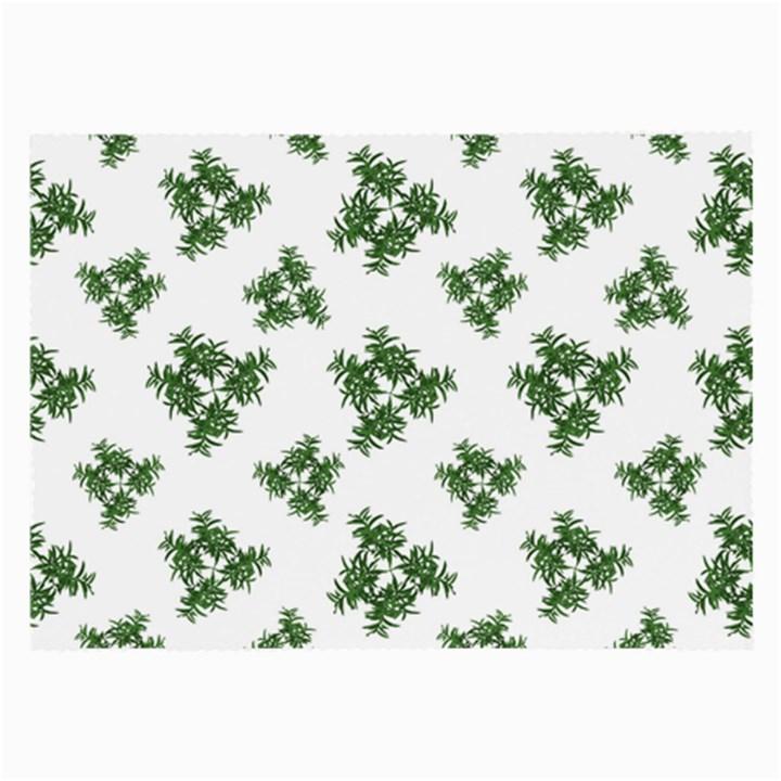 Nature Motif Pattern Design Large Glasses Cloth (2-Side)