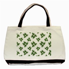 Nature Motif Pattern Design Basic Tote Bag (two Sides)