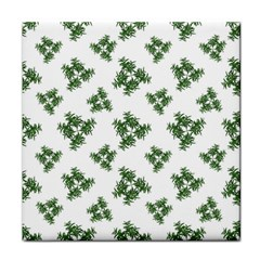Nature Motif Pattern Design Face Towel