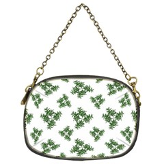 Nature Motif Pattern Design Chain Purses (two Sides)