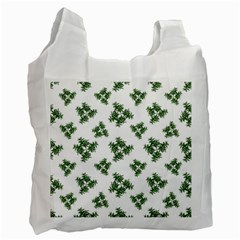 Nature Motif Pattern Design Recycle Bag (one Side)