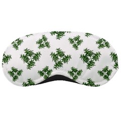 Nature Motif Pattern Design Sleeping Masks