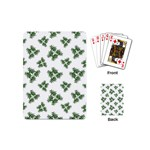 Nature Motif Pattern Design Playing Cards (Mini)  Back