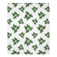 Nature Motif Pattern Design Shower Curtain 60  X 72  (medium)