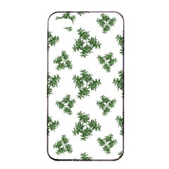 Nature Motif Pattern Design Apple Iphone 4/4s Seamless Case (black)
