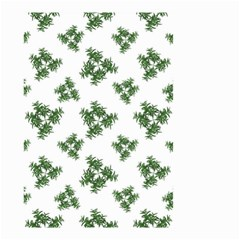 Nature Motif Pattern Design Small Garden Flag (two Sides)