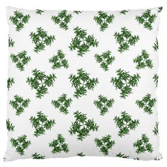 Nature Motif Pattern Design Large Cushion Case (two Sides)