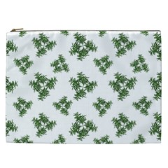 Nature Motif Pattern Design Cosmetic Bag (xxl)