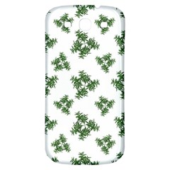 Nature Motif Pattern Design Samsung Galaxy S3 S Iii Classic Hardshell Back Case