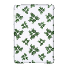 Nature Motif Pattern Design Apple Ipad Mini Hardshell Case (compatible With Smart Cover)