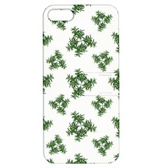 Nature Motif Pattern Design Apple Iphone 5 Hardshell Case With Stand