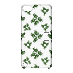 Nature Motif Pattern Design Apple Ipod Touch 5 Hardshell Case With Stand